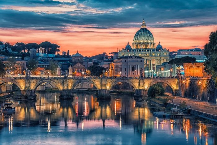 Sweet light over Rome