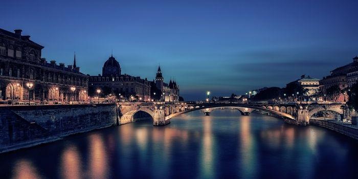 Twilight in Paris