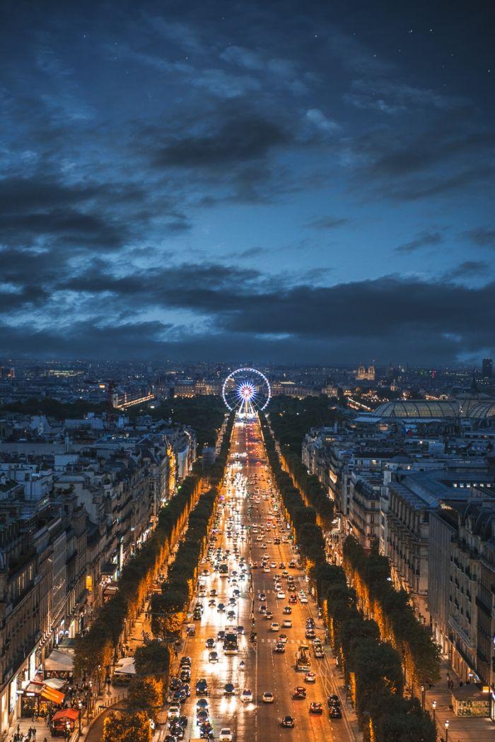 Vers l'oeil de Paris
