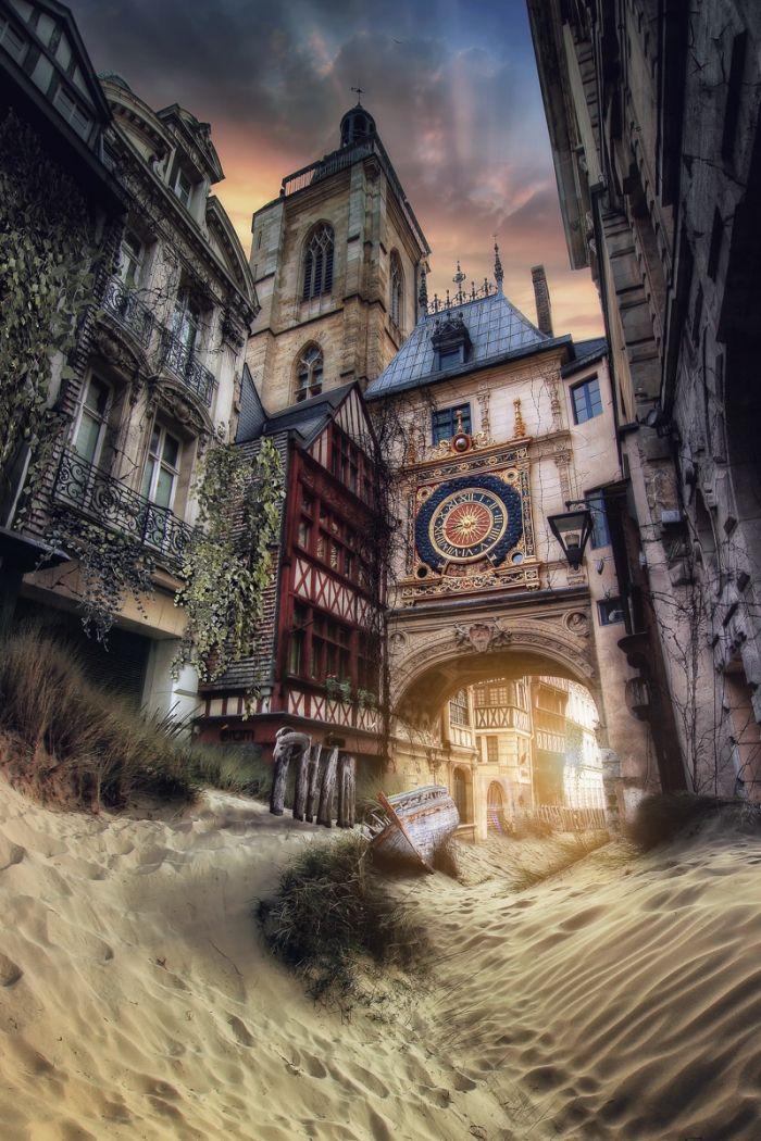 Rouen ensablisation