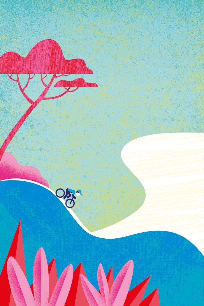 Vélo sur la Côte