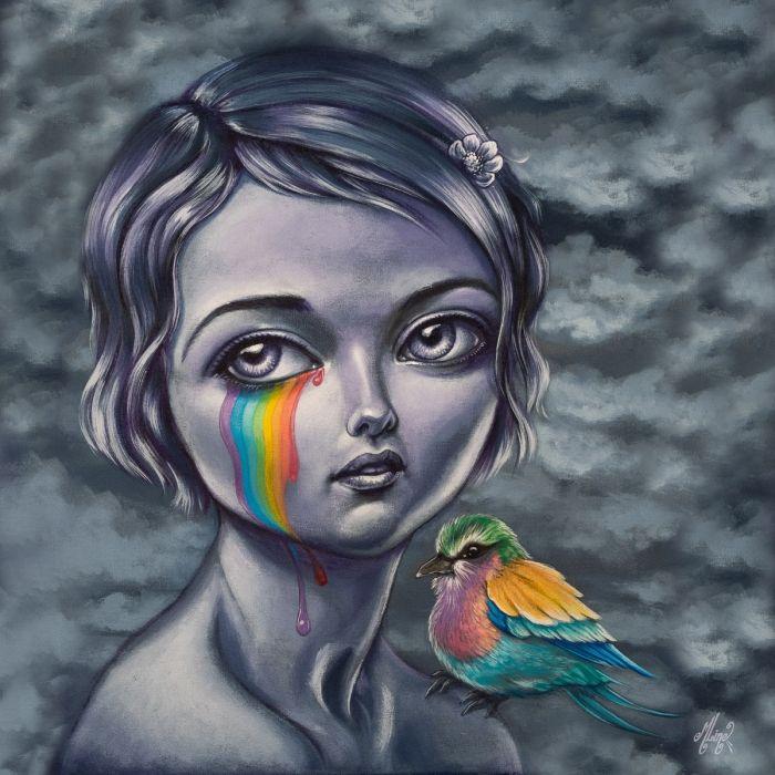 Rainbow Piou