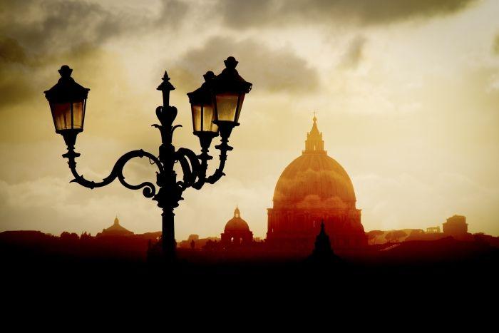 Depuis la villa Borghese