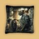 Coussin Garage Vintage - Sylvain Binet