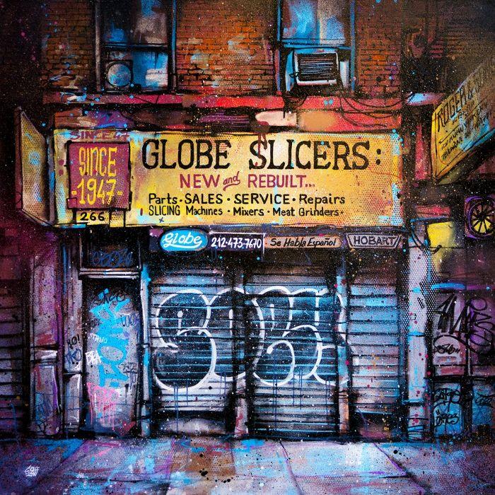 Globe slicer