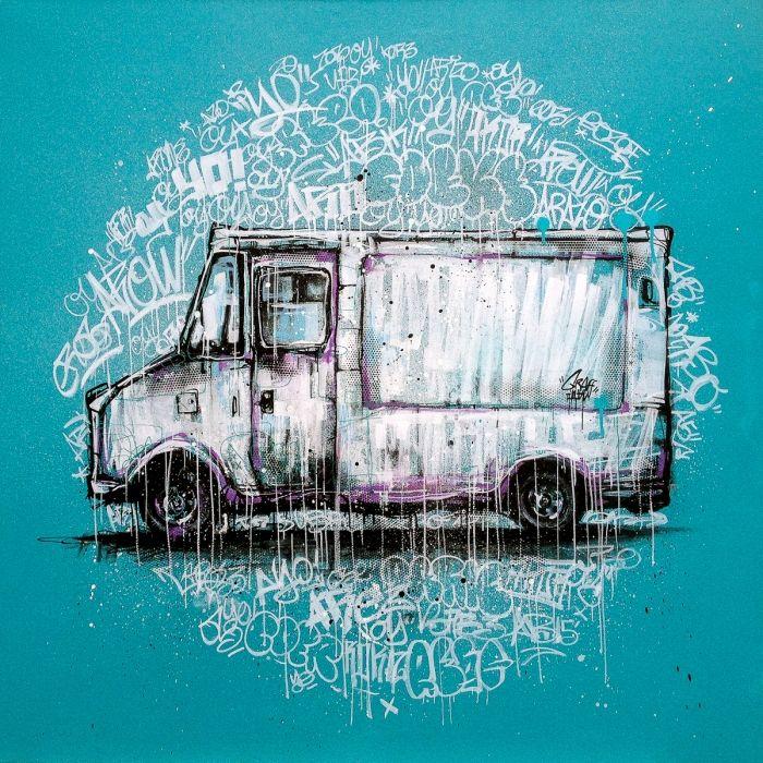 Graffiti truck 2