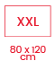 1.5 classique 80x120 XXL